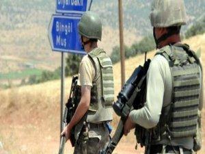 Bingöl'de Terör Operasyonu: 16 Sığınak ve 2 Depo Basıldı