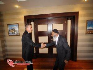 Şehit ve Gazi Ailelerinden Vali Süleyman Elban'a ziyaret