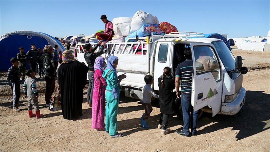 Musul'a Dönen Sivillerin Sayısı 253 Bine Ulaştı