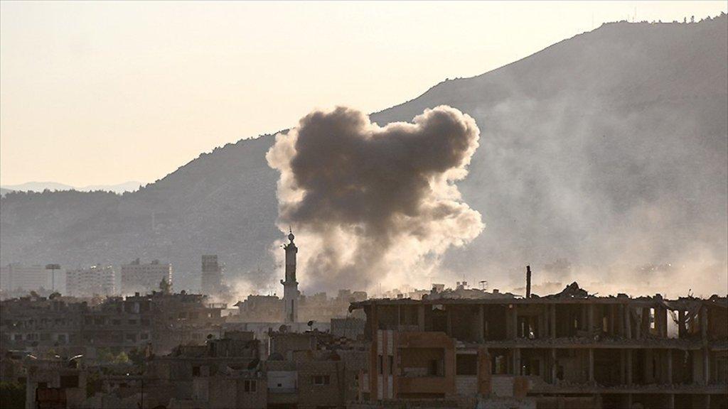 Suriye'de 'Çatışmasızlık Bölgesi'ne Saldırı