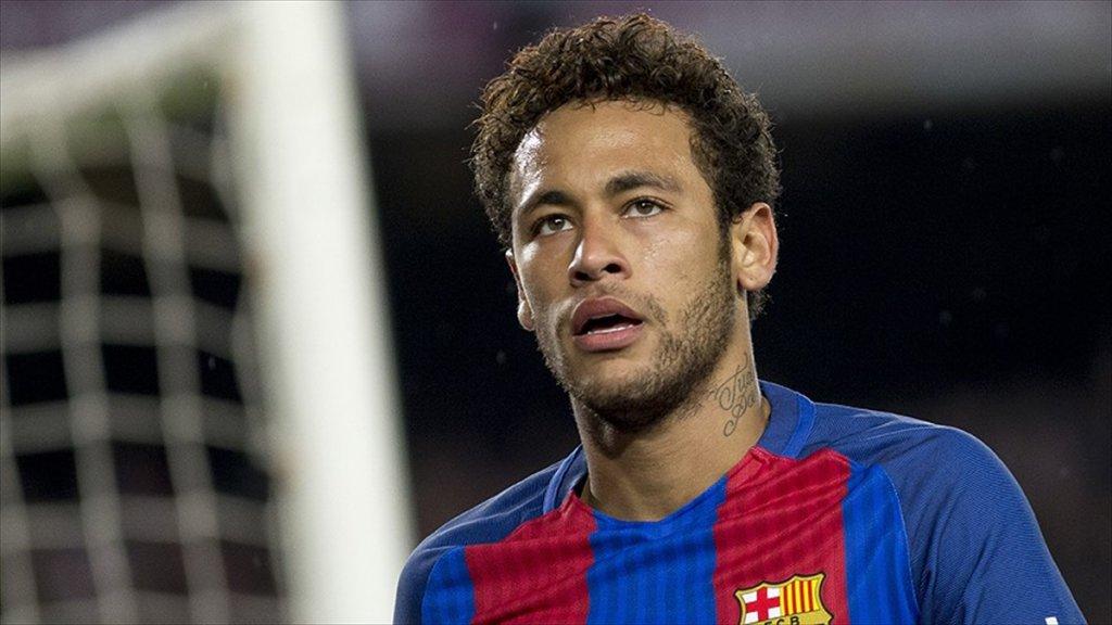 Neymar Barcelona'yı Bıraktı