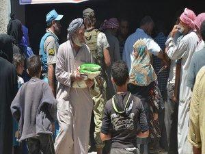 İhh'dan Halep'in İlçesi Bab'a Gıda Yardımı