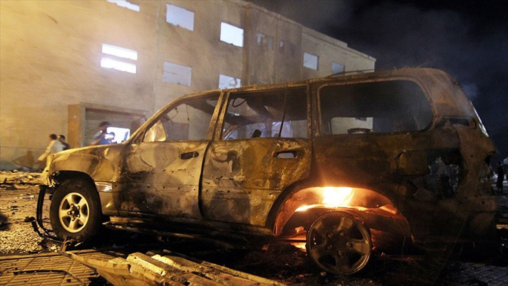 Libya'da Cami Önünde Patlama