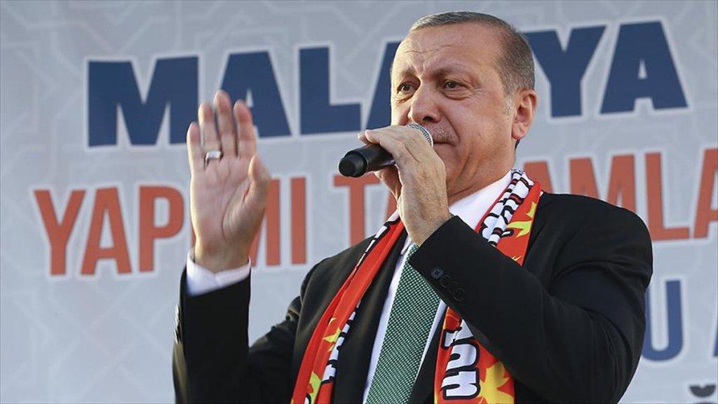Cumhurbaşkanı Erdoğan: Terör Oluşumunun Kalbine Soktuğumuz Hançeri Genişletmekte Kararlıyız