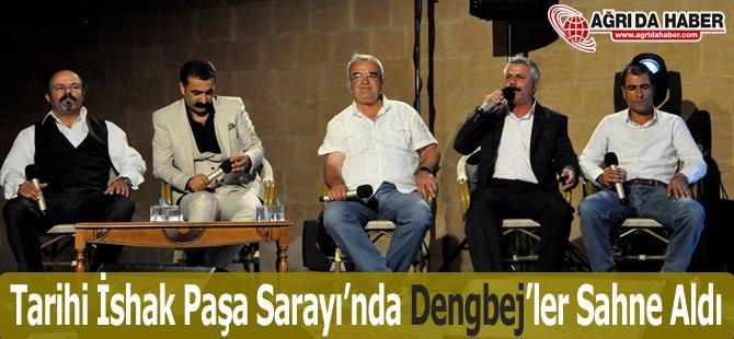 Tarihi İshak Paşa Sarayı'nda 'Dengbej' Dinletisi Yapıldı