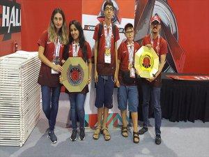 Antalya Robot Takımı Dünya Şampiyonu Oldu
