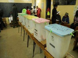 Kenya'da Halk Seçime Gitti