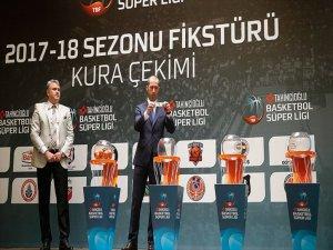 Basketbol Süper Ligi'nde İlk Yarı Fikstürü Belli Oldu