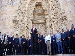 Cumhurbaşkanı Erdoğan Sarayburnu Camisi'nin Açılışını Yaptı