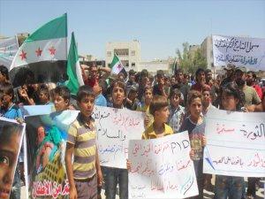 Bab'ta Terör Örgütü Pkk Karşıtı Gösteri