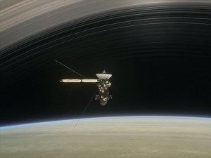 NASA uydusu Cassini Satürn'e En Yakın Geçişini Yaptı