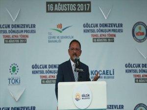 Çevre Ve Şehircilik Bakanı Özhaseki  Açıkladı