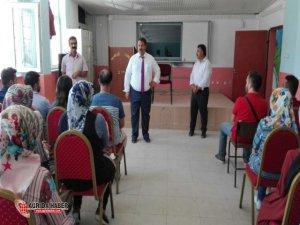 Yakup Turan'dan Diyadin'de ki 'Yetiştirme Programına' Ziyaret