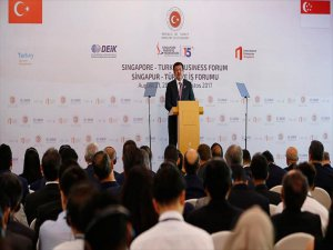 Nihat Zeybekci: Singapur İle 2 Milyar Dolarlık Ticaret Hedefi