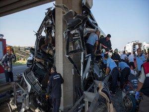 Ankara'da Otobüs Kazası: 5 Ölü
