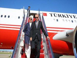 Cumhurbaşkanı Erdoğan'dan 3 Yılda Yurt Dışına 86 Ziyaret