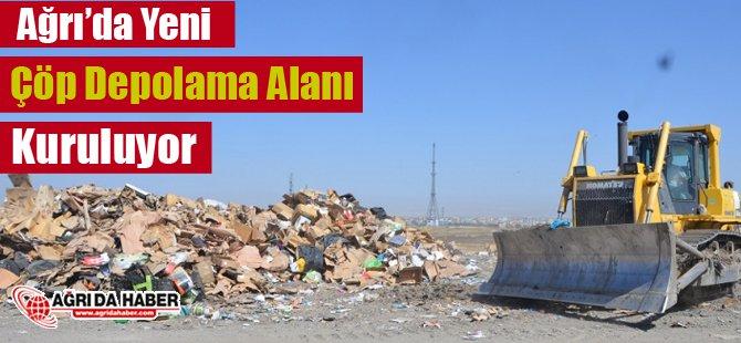 Ağrı'da Yeni Çöp Depolama Alanı Kuruluyor