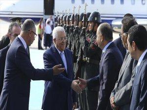 Filistin Devlet Başkanı Mahmut Abbas Türkiye'de