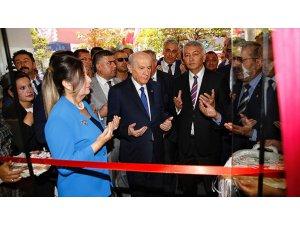 Mhp Genel Başkanı Bahçeli 'El İzi' Mağazasının Açılışını Yaptı