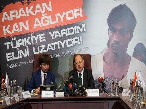 Arakan'a Yardım Kampanyası Başlatıldı