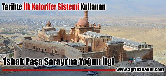 Tarihte İlk Kalorifer Sistemi Kullanılan İshak Paşa Sarayına Yoğun İlgi