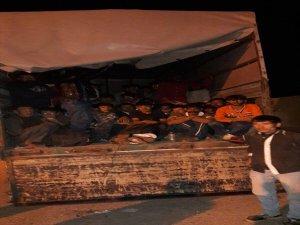 Ağrı'da Yasadışı Yolarlar Giren 93 Kaçak Yakalandı