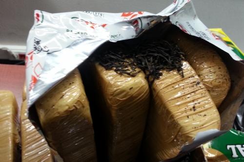 Suluova'da Çay Paketlerinden 12 Kilo 200 Gram Eroin Çıktı
