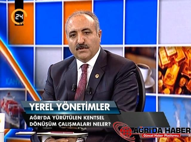 Hasan Arslan 24 TV Canlı Yayınında