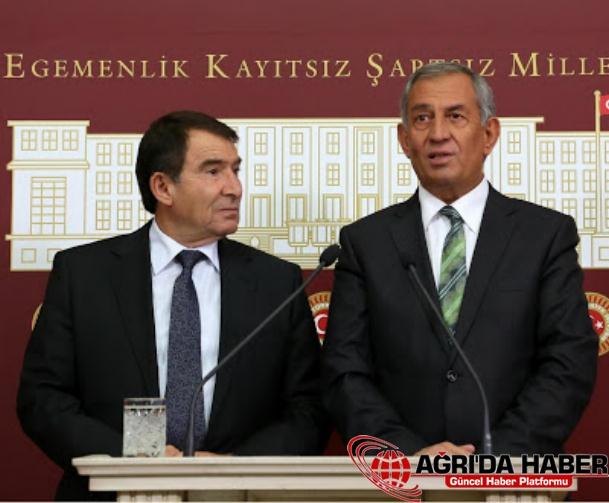 BDP'li Aksoy ve Çelik'in Meclisteki Basın Toplantısı