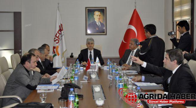 SERKA'nın 33. Yönetim Kurulu toplantısı Kars'ta yapıldı
