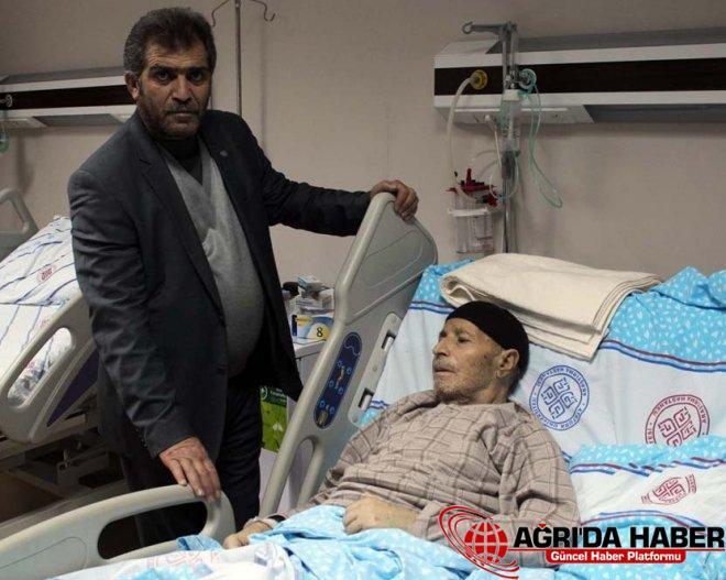 Ağrı'da Hastaneden Çıkarılan Hasta Erzurum'da Müşahede Altına Alındı