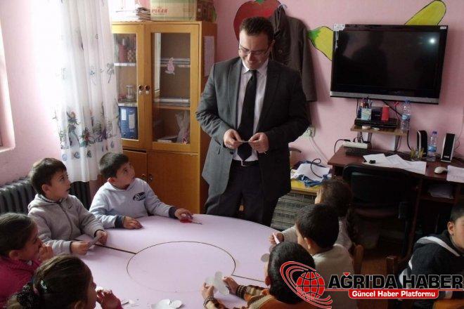 Eleşkirt Kaymakamı Zadeleroğlu Okul Ziyaretlerini Sürdürüyor