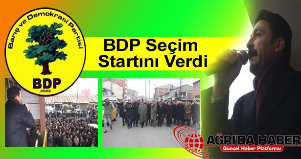 BDP Ağrı'da Seçim Startını Verdi