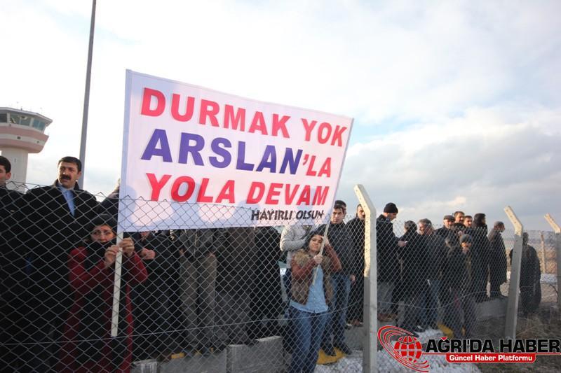 Başkan Arslan ve AK Parti Heyetine Coşkulu Karşılama