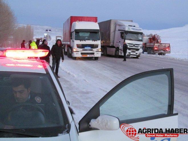 Kar Yağışı Kazaları da Beraberinde Getirdi