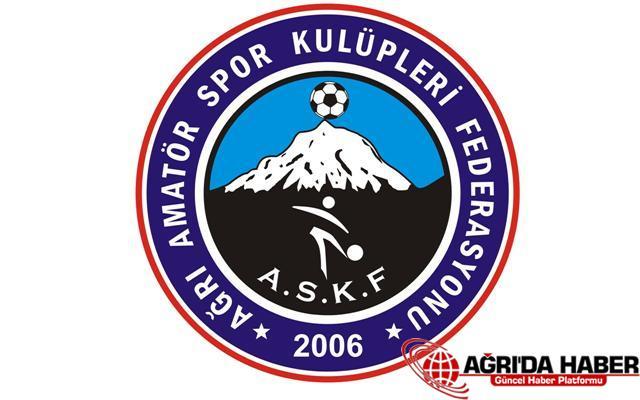 Ağrı'da Amatör Futbola Kar Engeli