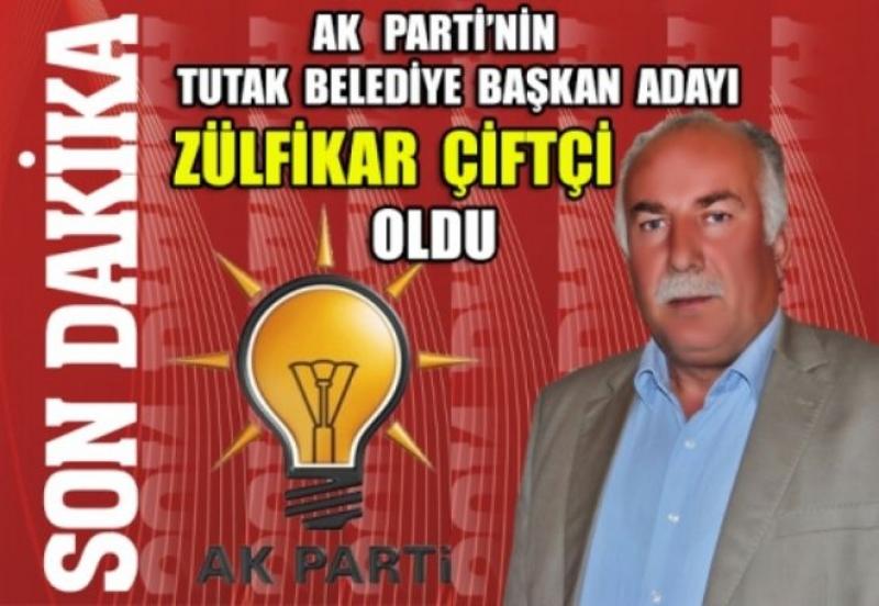 Ak Parti Tutak Belediye Başkan Adayı Zülfikar Çiftçi