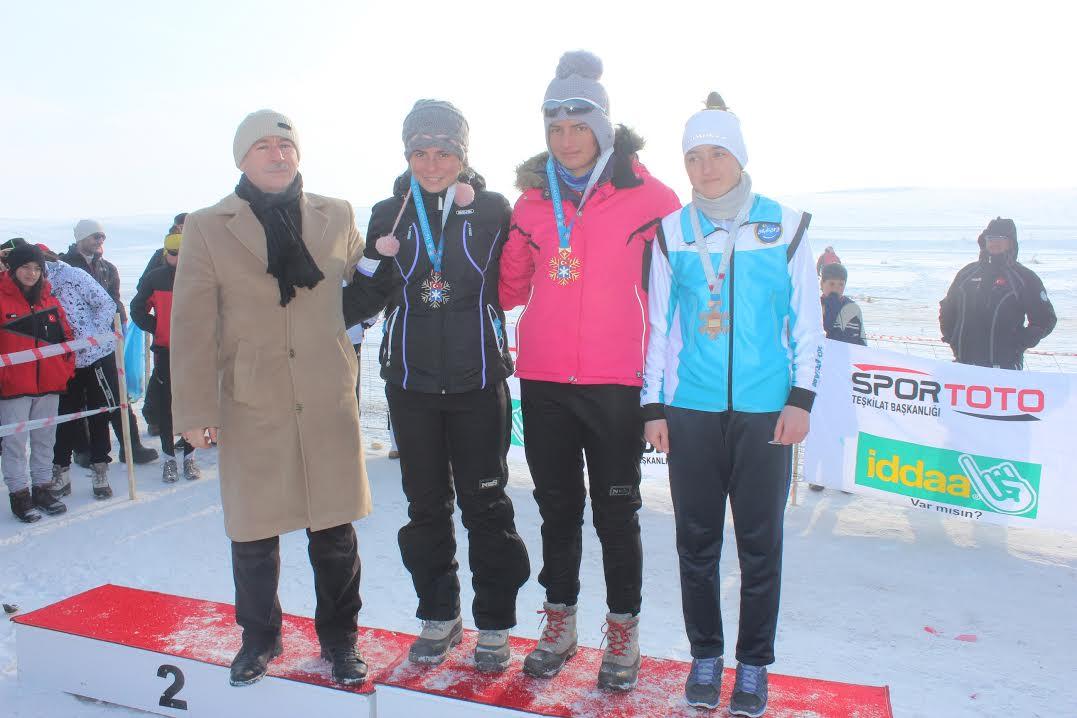 Kayaklı Koşu 1. Etap Türkiye Şampiyonu Ağrı Oldu