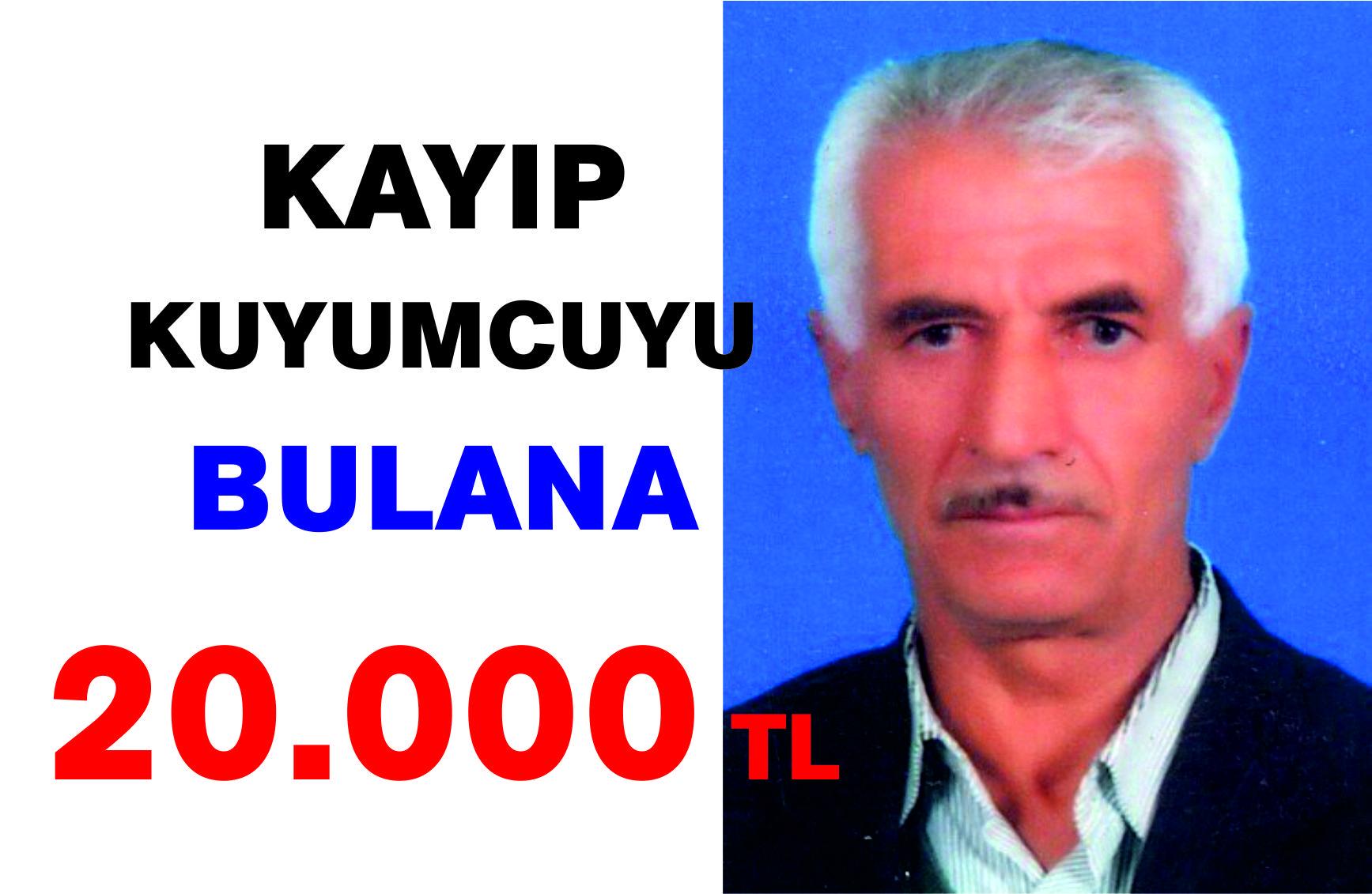 Kayıp Kuyumcu İçin 20 Bin TL Ödül