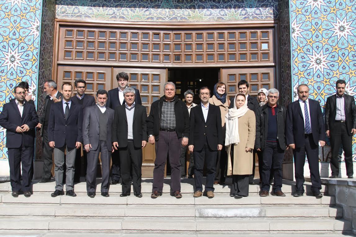 Ağrı Heyetinden Tebriz Valisi'ne Ziyaret
