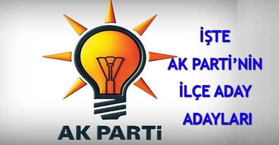 AK Parti Ağrı İlçe Adayları Açıklandı