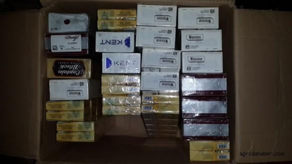 23 Bin 200 Paket Kaçak Sigara Ele Geçirildi