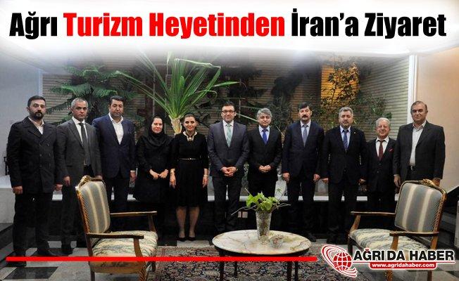 Ağrı Turizm Heyetinden İran Ziyareti
