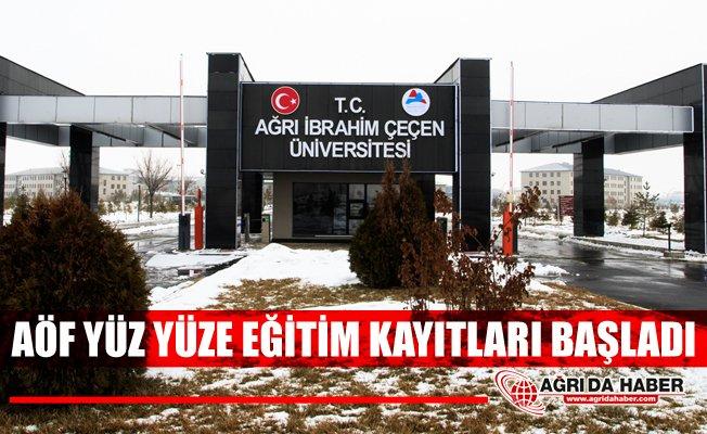 Anadolu Üniversitesi'nden A.İ.Ç.Ü'de Yüz Yüze Eğitim Duyurusu