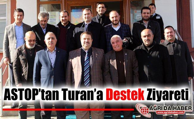 ASTOP'tan Ağrı İl Milli Eğitim Müdürü Yakup Turan'a destek ziyareti