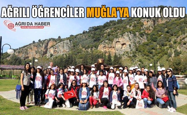 Ağrılı Öğrenciler Muğla'da Ortaca'ya Konuk Oldu
