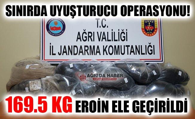 Gürbulak'ta Uyuşturucu Operasyonu! 169.5 Kilogram Eroin Ele Geçirildi!
