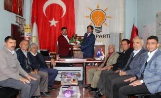 AK Parti Taşlıçay İlçe teşkilatı Nimet KAYA'ya teslim edildi