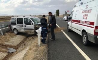 Eleşkirt'te yine Trafik Kazası: 1 Yaralı