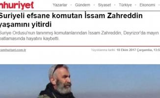 Esed'in Kanlı Katiline Cumhuriyet Gazetesinden Övgü